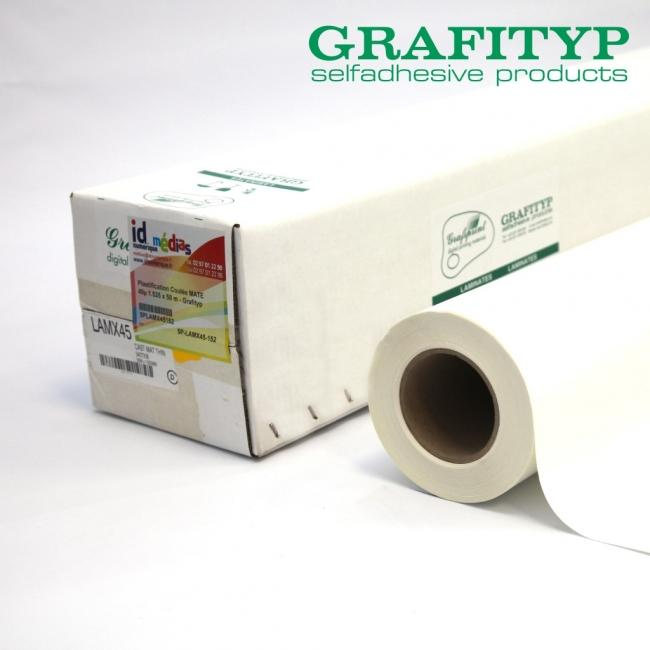 grafityp lamx45 film de plastification a froid polymère