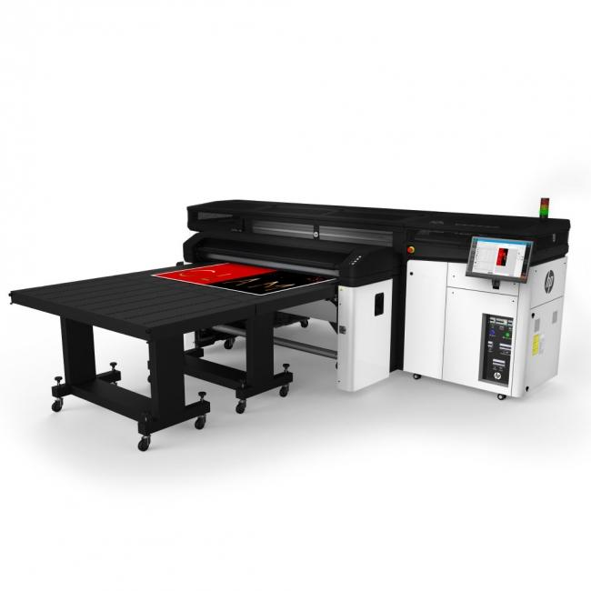 HP Latex R1000, impression à plat avec la technologie HP Latex