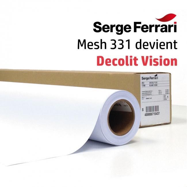 mesh 331 ferrari toile grille micro perfor e avec liner m1 pour impression sur traceur grand format. Black Bedroom Furniture Sets. Home Design Ideas